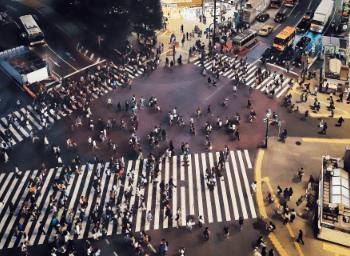 渋谷の街並み